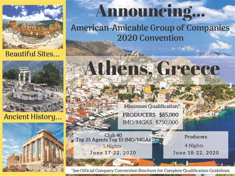 american amicable announcing  sales convention