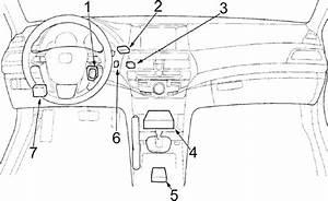 Honda Accord  2008 - 2012  - Fuse Box Diagram