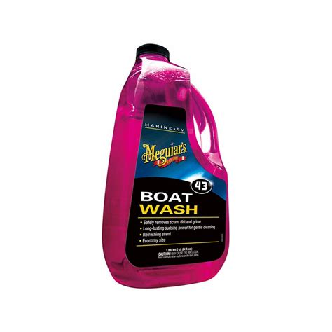 Meguiars Boat Wax by Meguiar S M4364 Marine Boat Wash Tackledirect