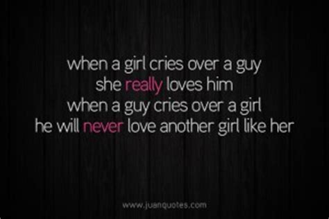 Girl Cries Quotes