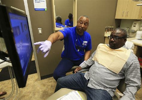 rock dental office treats veterans skips bite