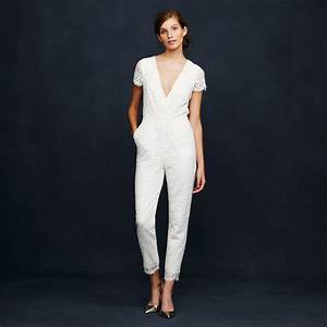 the best bridal jumpsuits for alternative wedding inspiration With jumpsuit wedding dress