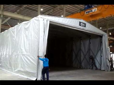 retractable curing tent collapsing kraft curing systems youtube