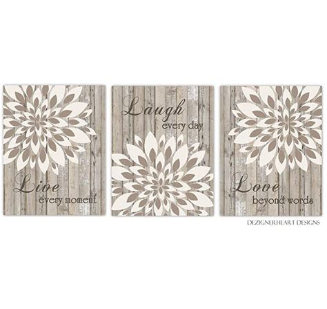 Top selected products and reviews. Amazon.com: Live Laugh Love Dahlia Mum Brown Beige Tan Flower Burst Wall Decor Prints Bedroom ...