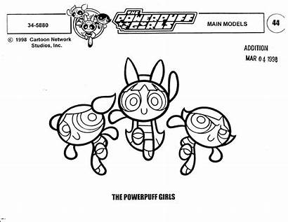 Powerpuff Cartoon Network Animation Sheet 2000s Cartoons