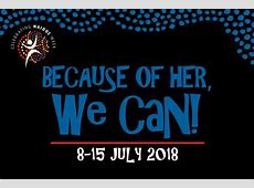 NAIDOC 2018 Because of her, we can! Indigenousgovau