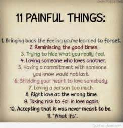 Pain Sad Quotes About Love