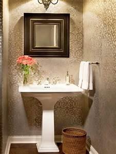 Lovely Wallpaper For Bathroom Top 25+ Best Small Bathroom ...