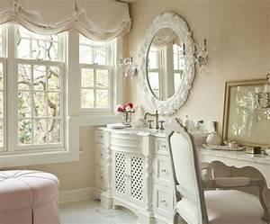 Salle De Bain Style Romantique. small bathroom with white wall tile ...