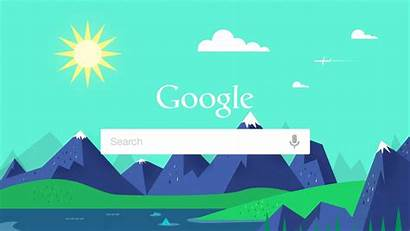 Google Flat Summer Illustrator Tutorial Background Wallpapers