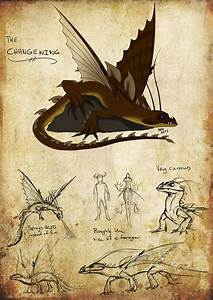 How To Train Your Dragon Changewing | HTTYD: Changewing by ...