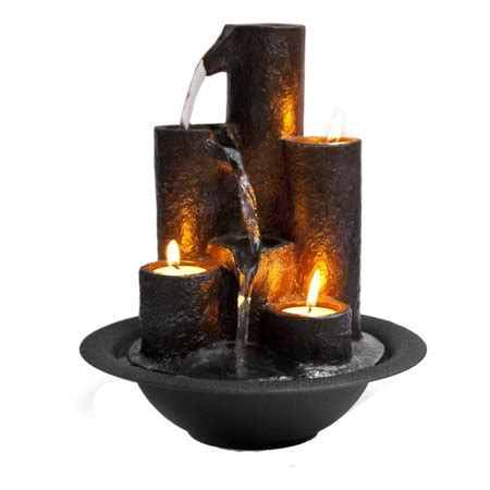 water fountain relaxing tabletop water feature decoration walmartcom