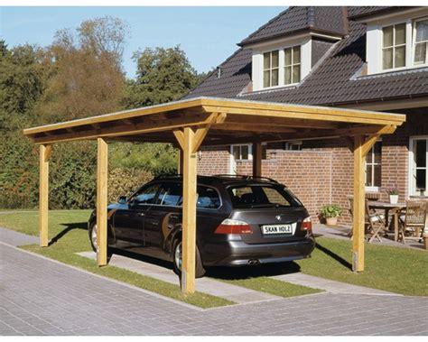 Einzelcarport Skan Holz Emsland 404x604 Cm Mit Aluminium