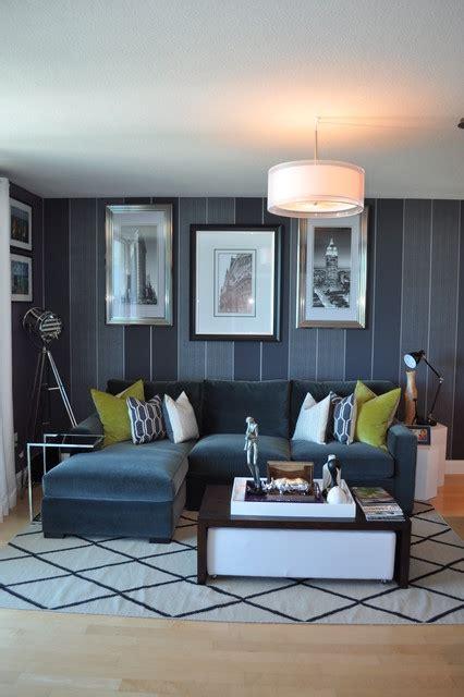 bachelor pad makeover contemporary living room miami