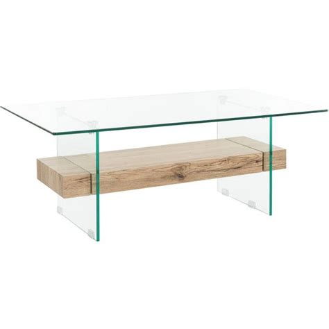 Discover +300 safavieh table & chair in the buyma online marketplace now. Safavieh Kayley Rectangular Modern Glass Coffee Table Natural/glass ($187) liked on Pol ...
