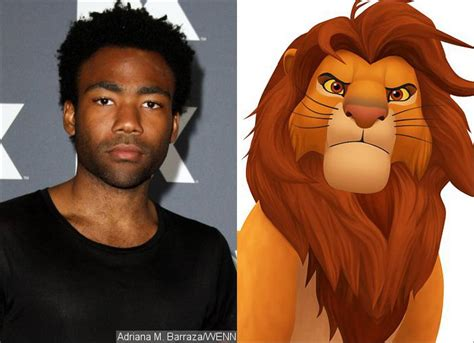 donald glover simba donald glover to play simba in the lion king remake