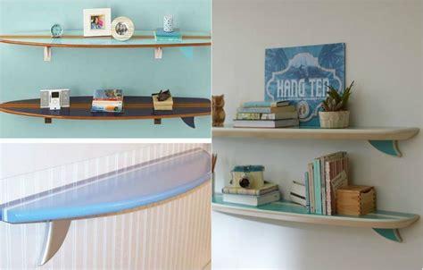 lit transformé en canapé déco chambre enfant avec planche de surf 50 inspirations
