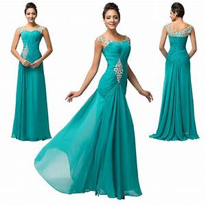 Sale cheap long bridesmaid evening prom ball gowns formal for Prom wedding dresses
