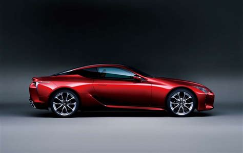 Lexus Launches The New 'lc' Luxury Coupe In Japan, Coming
