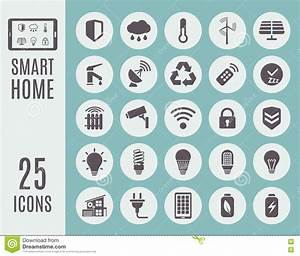 Smart Home Icon : smart home icon set automation control systems vector illustration stock vector image 79119803 ~ Markanthonyermac.com Haus und Dekorationen
