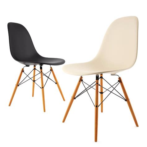side chair by vitra eames dimensiva