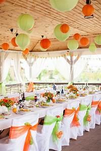 Orange Et Vert Dunkerque : decoration de salle orange et vert mariage mariage by ~ Dailycaller-alerts.com Idées de Décoration