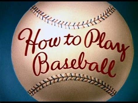 Långben  Hur Man Spelar Baseball (1942) Youtube