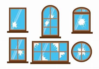 Window Broken Clipart Windows Amazing Graphics Edit