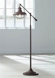 Floor lamps dover gold floor lamp better homes and for Stafford bronze floor lamp