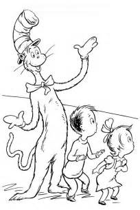 cat in the hat coloring pages cat in the hat coloring pages coloring pages to print