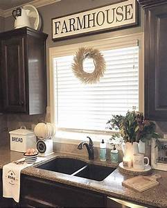 best 25 farmhouse kitchen decor ideas on pinterest farm With kitchen colors with white cabinets with go sms sticker