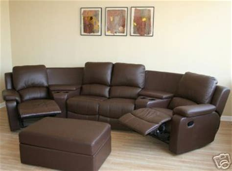 Amc Loveseats by Home Theater Seating Leather Recliner Chair Brown