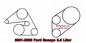 Engine Diagram 2005 Ford Escape 3 0