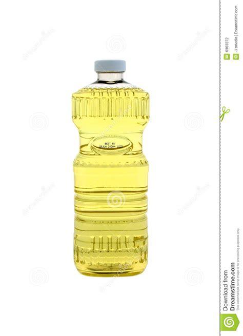 bouteille d 39 huile de cuisine photo stock image du fond