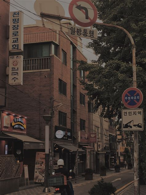 seoul korea aestethic city pemandangan