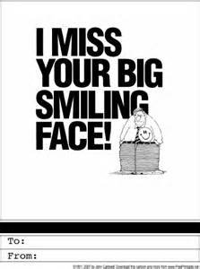I Miss You Cards Printable