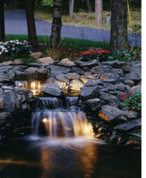 koi pond with waterfall koi pond pictures
