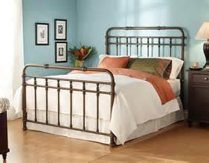 wesley allen iron beds queen complete laredo headboard and