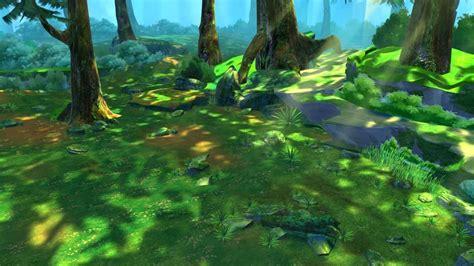 cartoon forest scene   model max cgtradercom