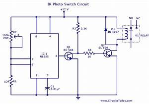 Photo Switch Circuit Under Repository-circuits
