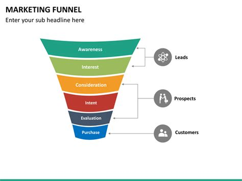 marketing funnel template marketing funnel powerpoint template sketchbubble