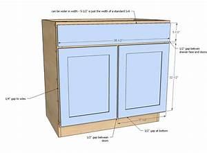 36 U0026quot  Sink Base Kitchen Cabinet