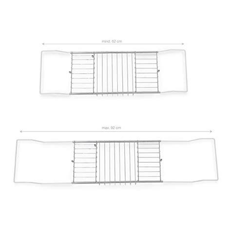 larghezza vasca da bagno mensola per vasca da bagno larghezza da 62 a 90 cm