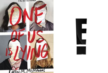 E! Developing 'One Of Us Is Lying' YA Book As Series
