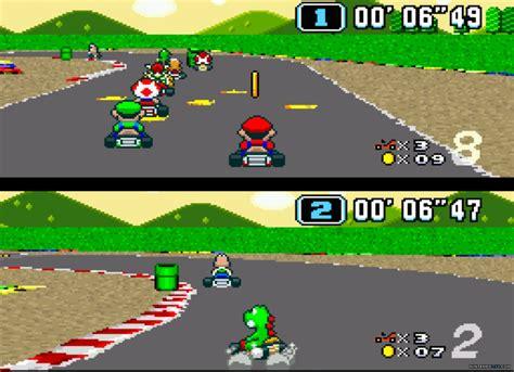 Super Mario Kart Screenshot