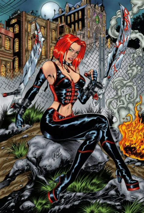 Bloodrayne Comic Book Art Bloodrayne Hentai Pictures