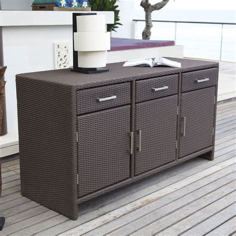 Outdoor Sideboard Cabinet by Stylish Indoor Outdoor Sideboard Ideal For Those Brilliant
