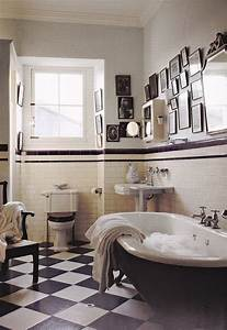 Décoration Murale Salle De Bain : le th me du jour est la salle de bain r tro ~ Teatrodelosmanantiales.com Idées de Décoration