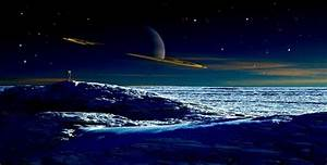 Saturn's Largest Moon Titan Has Landforms Very Similar to ...
