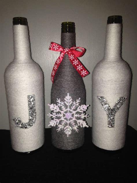 decorative wine bottles crafts 25 unique wine bottle crafts ideas on wine